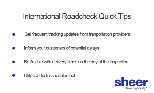 roadcheck quick tips